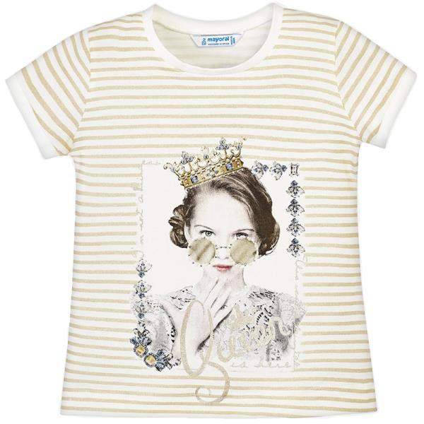 6fb97c0c9f6 Παιδική Μπλούζα Mayoral 29-03010-038 Μπεζ Κορίτσι