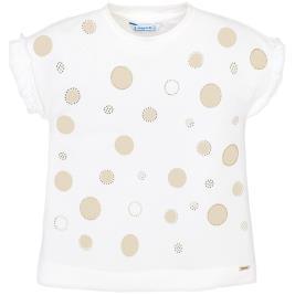 Παιδική Μπλούζα Mayoral 29-03012-070 Εκρού Κορίτσι