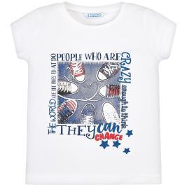 Παιδική Μπλούζα Mayoral 29-03015-064 Λευκό Κορίτσι