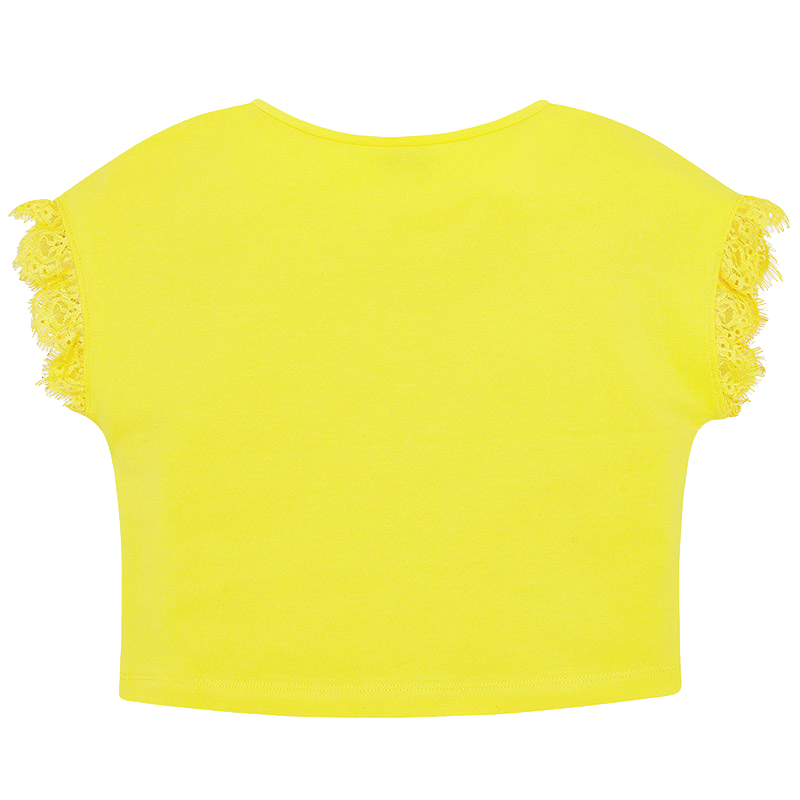5f537b9f5e7d Παιδική Μπλούζα Mayoral 29-06023-016 Κίτρινο Κορίτσι