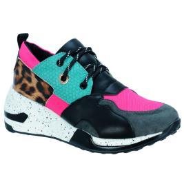 Γυναικείο Sneaker Renato Garini 19W86-1 Φούξια Multi
