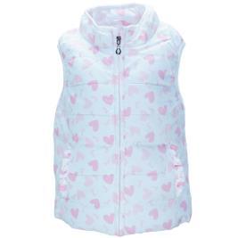 Παιδικό Γιλέκο Εβίτα 198262 Λευκό Ροζ Κορίτσι