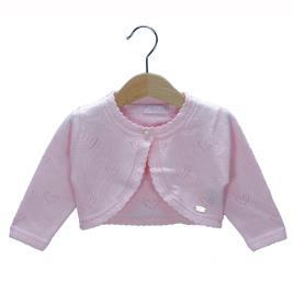 Βρεφικό Μπολερό Εβίτα 198520 Ροζ Κορίτσι