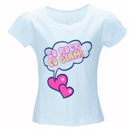 Παιδική Μπλούζα Εβίτα 198228 Λευκό Κορίτσι