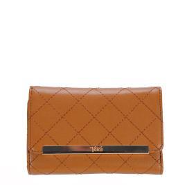 Γυναικείο Πορτοφόλι Verde 18-0000944 Κάμελ