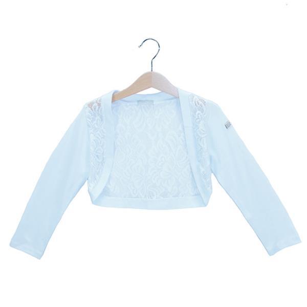 5ec1c96d25e Παιδικό Μπολερό Εβίτα 186045 Λευκό Κορίτσι