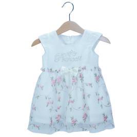 Βρεφικό Φόρεμα NCollege 29-8761 Εκρού Κορίτσι