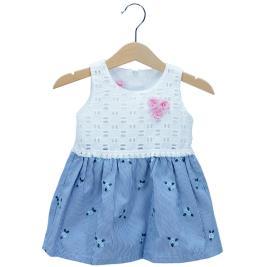 Βρεφικό Φόρεμα NCollege 29-8768 Λευκό Κορίτσι