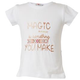 f5135c022020 Παιδική Μπλούζα Energiers 15-219346-5 Λευκό Κορίτσι