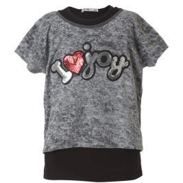 Παιδική Μπλουζα Energiers 16-219254-5 Γκρι Κορίτσι