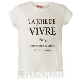 Παιδική Μπλούζα Energiers 16-219231-5 Λευκό Κορίτσι