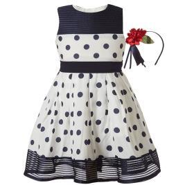 Παιδικό Φόρεμα Boutique 46-219274-7 Πουά Κορίτσι