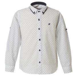 Παιδικό Πουκάμισο Boutique 43-219073-4 Λευκό Αγόρι