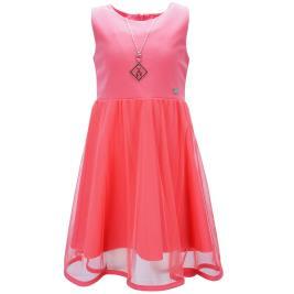 Παιδικό Φόρεμα Εβίτα 198069 Κοραλί Κορίτσι