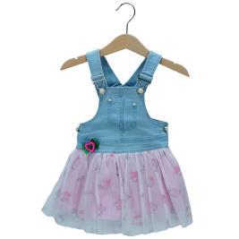 Βρεφικό Φόρεμα Εβίτα 198541 Τζιν Κορίτσι