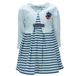 Παιδικό Φόρεμα Εβίτα 198305 Ριγέ Κορίτσι