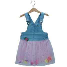 Παιδικό Φόρεμα Εβίτα 198258 Τζιν Κορίτσι