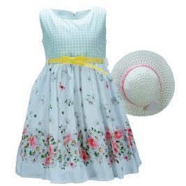 Παιδικό Φόρεμα Εβίτα 198249 Καρρώ Κορίτσι