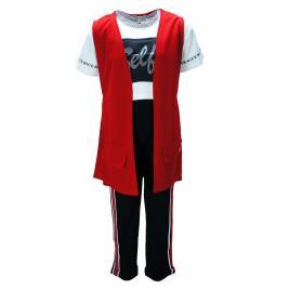 eb18db898cc3 Παιδικό Σετ-Σύνολο Εβίτα 198039 Κόκκινο Κορίτσι ...