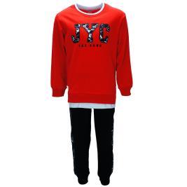 Παιδική Φόρμα-Σετ Joyce 91205 Κόκκινο Αγόρι