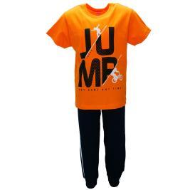 Παιδική Φόρμα-Σετ Joyce 91209 Πορτοκαλί Αγόρι