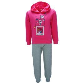 Παιδική Φορμα-Σετ Joyce 92203 Σκούρο Ροζ Κορίτσι