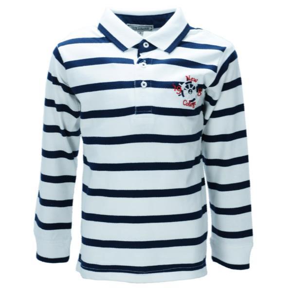 659ae6427c2c Παιδική Μπλούζα New College 29-945 Ριγέ Αγόρι