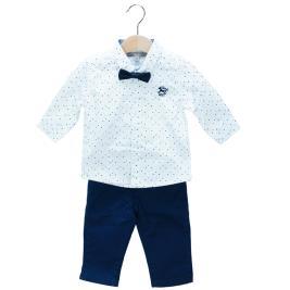 Βρεφικό Σετ-Σύνολο NCollege 29-8805 Λευκό Αγόρι