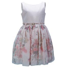 Παιδικό Φόρεμα M&B 9515 Ροζ Κορίτσι