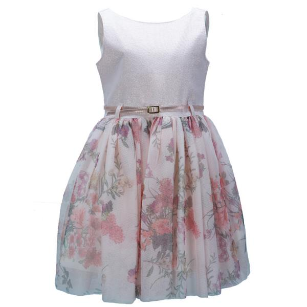 0ab48292c5c Παιδικό Φόρεμα M&B 9515 Ροζ Κορίτσι
