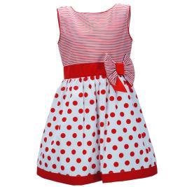Παιδικό Φόρεμα M&B 9502 Ριγέ Κορίτσι