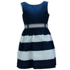 Παιδικό Φόρεμα M&B 9504 Ριγέ Κορίτσι