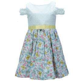 Παιδικό Φόρεμα M&B 9425 Φλοράλ Κορίτσι