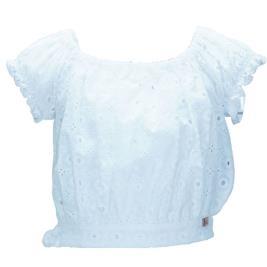Παιδική Μπλούζα M&B 9434 Λευκό Κορίτσι