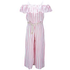 Παιδική Ολόσωμη Φόρμα M&B 9556 Ριγέ Κορίτσι