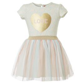 Βρεφικό Φόρεμα Energiers 14-219423-7 Εκρού Κορίτσι