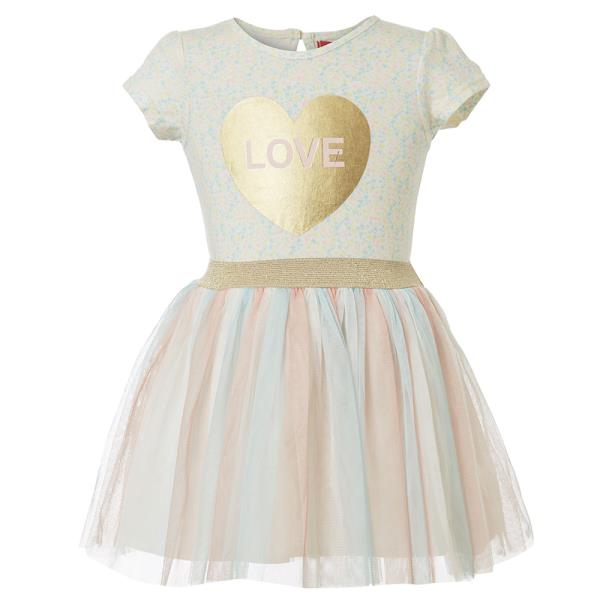 42d9892d23f9 Βρεφικό Φόρεμα Energiers 14-219423-7 Εκρού Κορίτσι