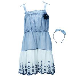 Παιδικό Φόρεμα Εβίτα 198278 Ριγέ Κορίτσι