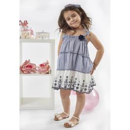 a549f75f9750 Παιδικό Φόρεμα Εβίτα 198278 Ριγέ Κορίτσι Παιδικό Φόρεμα Εβίτα 198278 Ριγέ  Κορίτσι