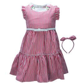 Παιδικό Φόρεμα Εβίτα 198287 Καρρώ Κορίτσι