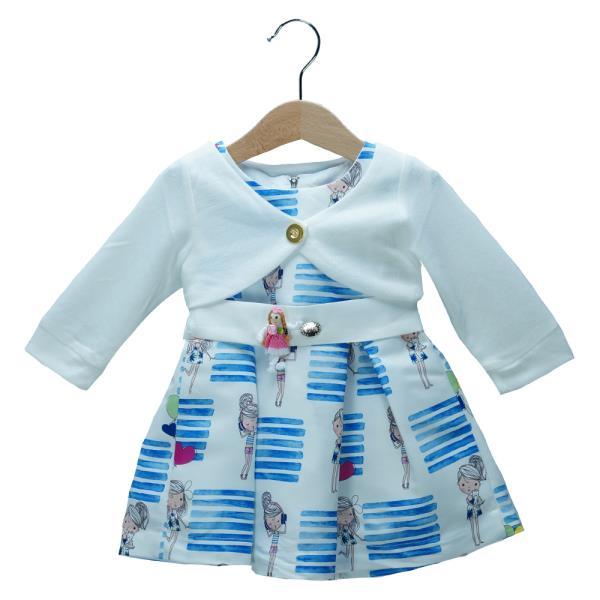 f2b983417359 Βρεφικό Φόρεμα Εβίτα 198529 Εμπριμέ Κορίτσι