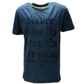 Παιδική Μπλούζα Amaretto A1922 Ανθρακί Αγόρι