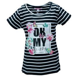 Παιδική Μπλούζα NCollege 29-9061 Ριγέ Κορίτσι