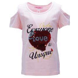 Παιδική Μπλούζα NCollege 29-9059 Ροζ Κορίτσι