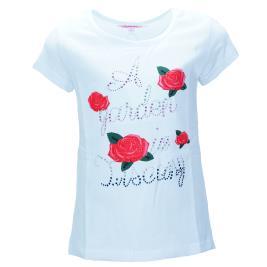Παιδική Μπλούζα NCollege 29-957 Λευκό Κορίτσι