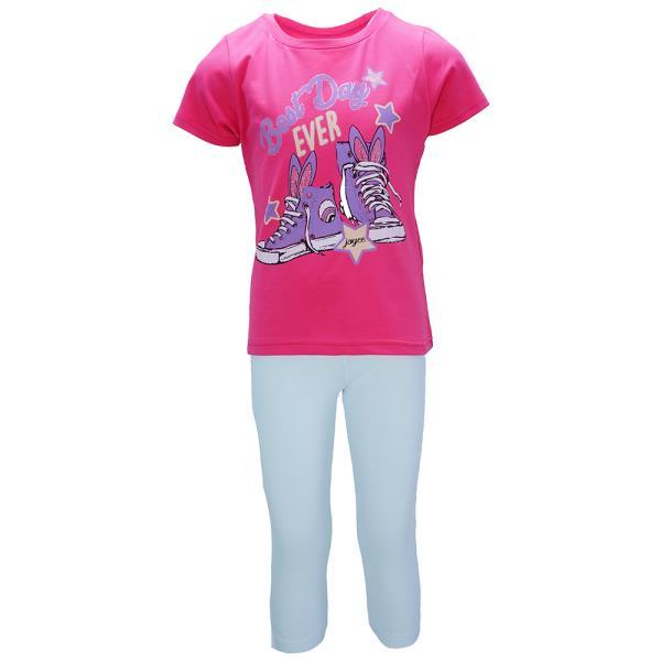 b8643db5d43 Παιδικό Σετ-Σύνολο Joyce 92310 Φούξια Κορίτσι