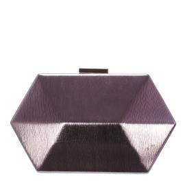 Γυναικείος Φάκελος Verde 01-0001222 Ροζ Χρυσό