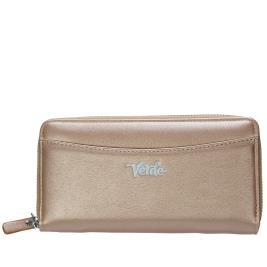 Γυναικείο Πορτοφόλι Verde 18-0000954 Ροζ Χρυσό