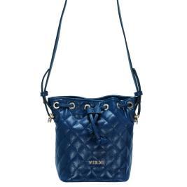 Γυναικεία Τσάντα Verde 16-0004984 Μπλε
