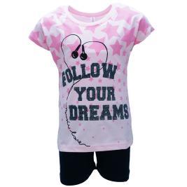 Παιδική Πυτζάμα Dreams 98608 Ροζ Κορίτσι